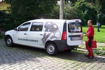 Schlüsselnotdienst Ingolstadt Dienstwagen